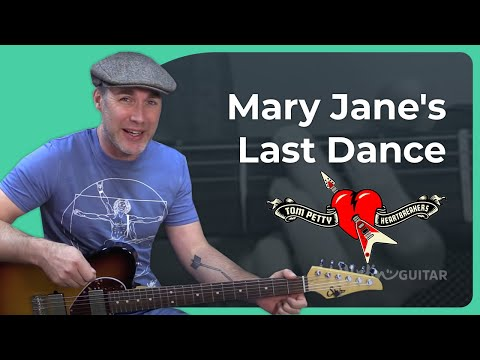 How to play Mary Jane's Last Dance by Tom Petty & the Heartbreakers Guitar Lesson Tutorial Tribute