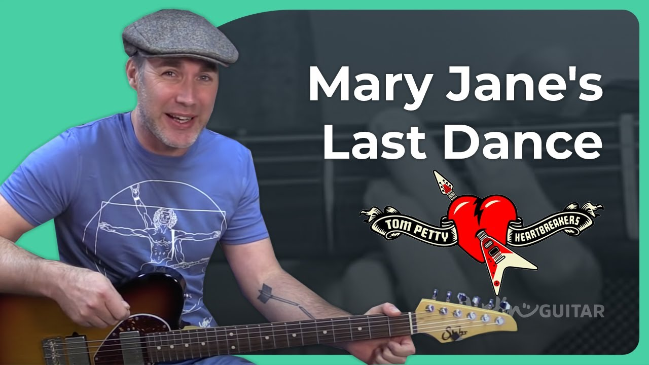 How to play Mary Jane's Last Dance by Tom Petty & the ...