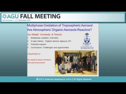 A31K. New Atmospheric Sciences Fellows Presentations I - 2012 AGU Fall Meeting