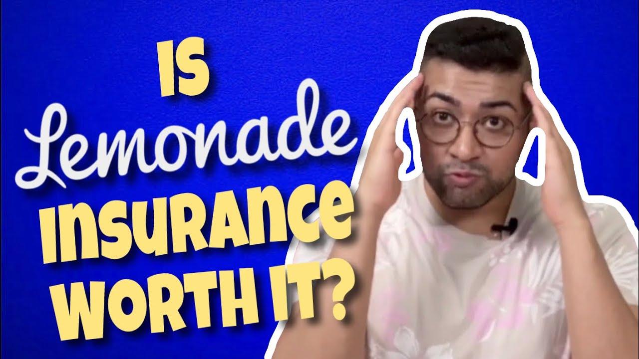 Is Lemonade Insurance Worth It? - YouTube