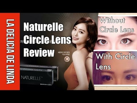 BAUSCH+LOMB Naturelle Daily Disposable Circle Contact Lens Review Brown