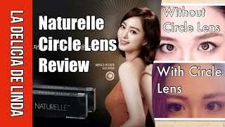 bausch lomb naturelle daily disposable circle contact lens review brown