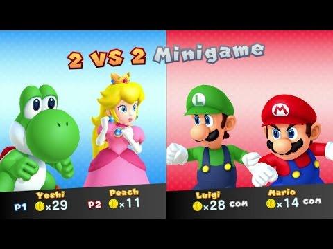 Mario Party 10 - Peach amiibo Board (amiibo Party Mode)
