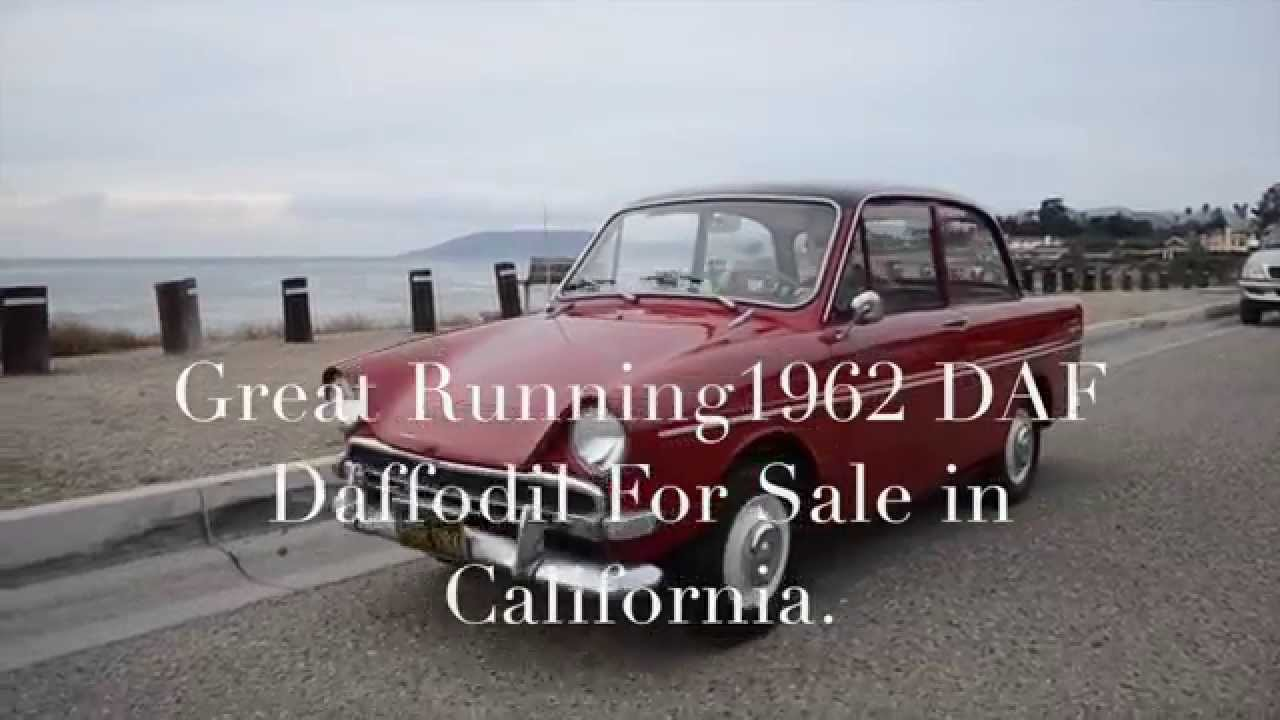 1962 DAF Daffodil Type 303 Super Deluxe Micro Car For Sale, CA