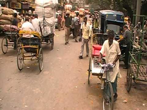Khari Baoli Indian Spice Market Old Delhi India Chandni Chowk