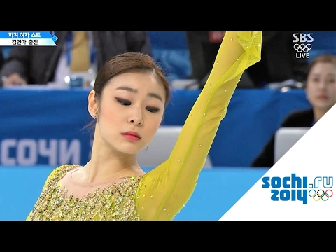 2014 Olympics Ladies SP Group 4 Full Version