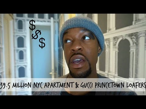 $39.5 Million New York CIty Apartment & Gucci Princetown Loafers