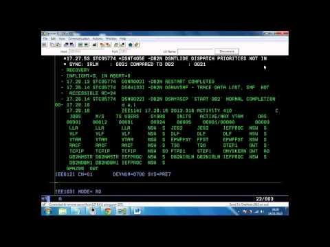 DB2 (Trying to run a COBOL program but got an error message) VIDEO 2