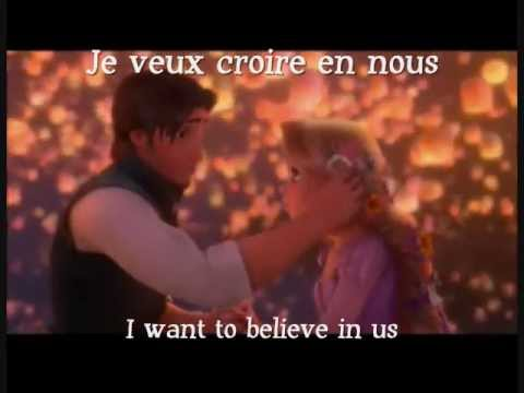 I See the Light  French w Subs and Translation
