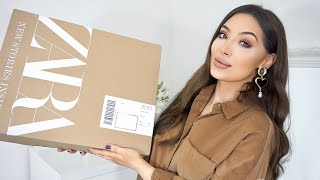 NEW IN ZARA HAUL | Autumn -Winter Unboxing & Try on
