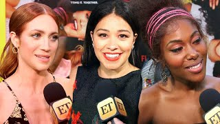 'Someone Great': Gina Rodriguez, DeWanda Wise and Brittany Snow Break Down Selena Scene (Exclusiv…