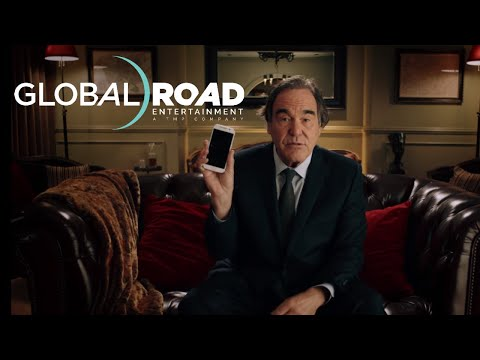 "SNOWDEN - Oliver Stone ""Turn Off Your Phone"" PSA - In Theaters September 16"