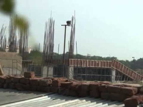 Noida stadium is being upgraded to enhance its spectators seating capacity upto 20000