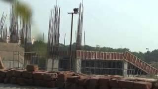 Noida stadium is being upgraded to enhance its spectators seating capacity upto 20000