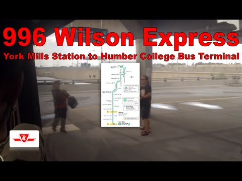186 Wilson Rocket - TTC 2015 Nova Bus LFS 8413 (York Mills Station to Humber College Bus Terminal)