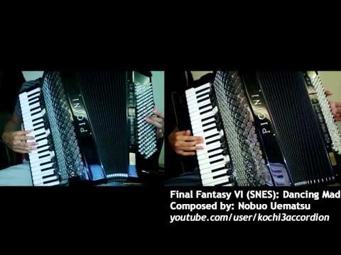 FFVI Dancing Mad Part 1 Accordion Duo YouTube