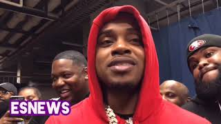 Errol Spence vs Terence Crawford How Their Nose To Nose Run In Went Down - EsNews Boxing