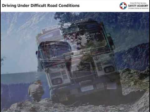 Driving Under Difficult Road Conditions  Demo Video
