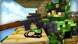 Кто этот снайпер? [ЧАСТЬ 6] Зомби апокалипсис в майнкрафт! - (Minecraft - Сериал)