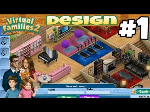 Virtual families 2 house design 1 first house youtube - Virtual room designer upload photo ...