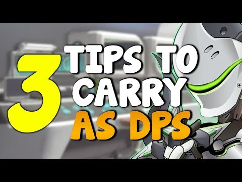 3 Tips To CARRY YOUR TEAM As a DPS MAIN | Overwatch Competitive *Season 6 Ranked Guide*