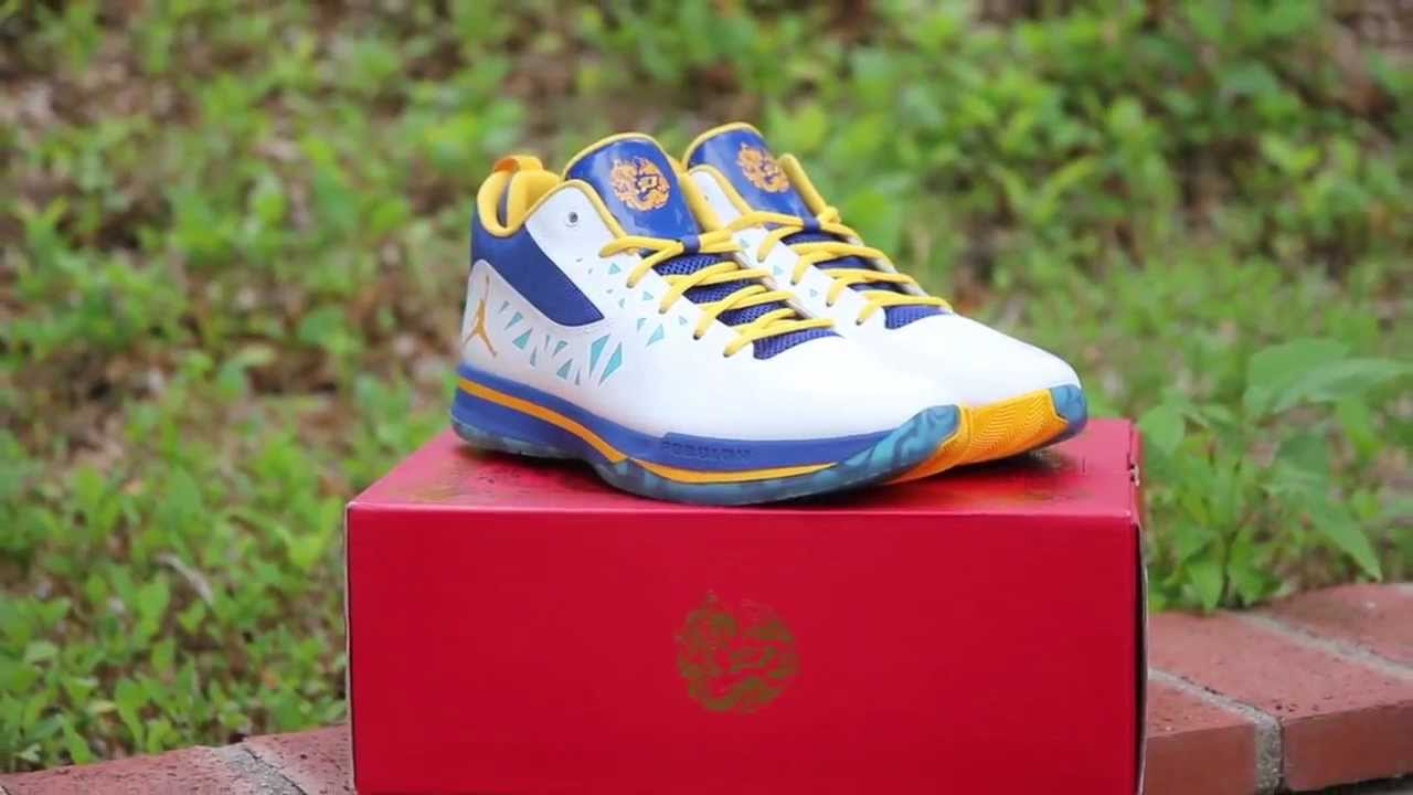 552aefe836befc Jordan CP3.V Year of the Dragon Detailed Review - YouTube