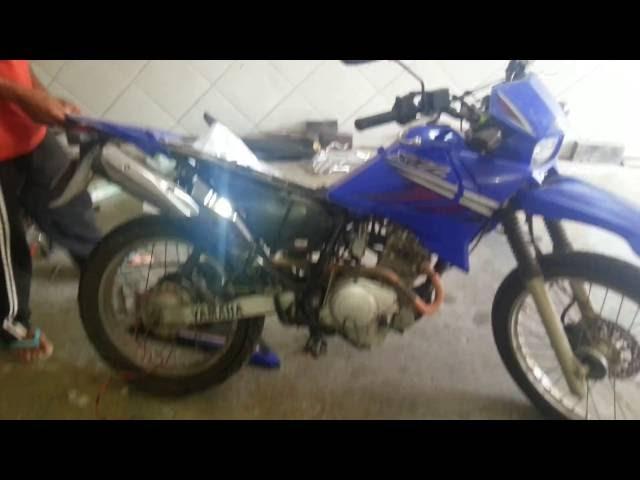 Moto Yamaha Xtz 125 2007/2008. Dando um trato pra ficar 0KM