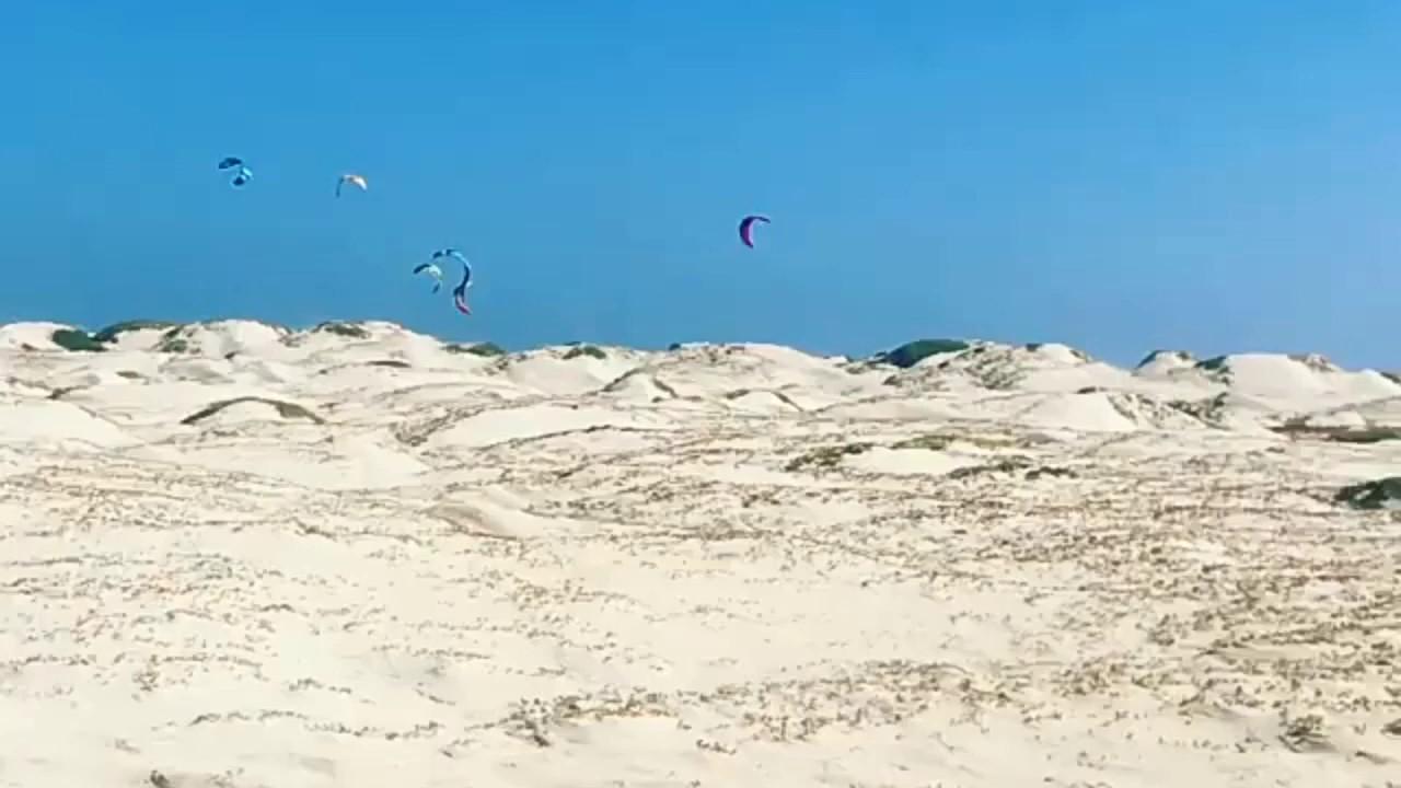 Kite Surf en la isla de Sal (Cabo Verde)