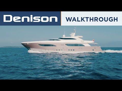 NAMASTE: 40m Tamsen Superyacht Tour