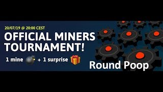 [Curve Fever Pro] Official July Miners Tournament - Finals | Round Poop