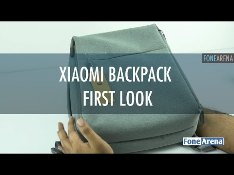 Xiaomi Backpack First Look - Urban Lifestyle version