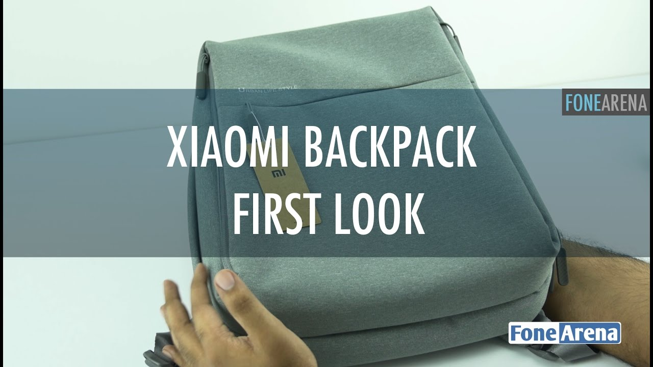 Xiaomi Backpack First Look - Urban Lifestyle version - YouTube 4a4ca264de