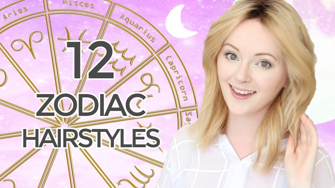 12 CUTE \u0026 EASY SHOULDER LENGTH HAIRSTYLES INSPIRED BY ZODIAC SIGNS 🌙