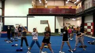 Ashley Benson dance practice for Fab Five