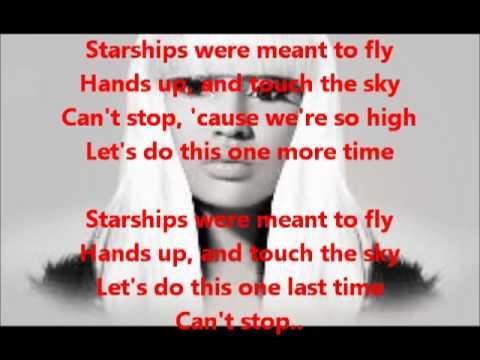 Nicki Minaj - Starships (Karaoke Instrumental With Lyrics On Screen) [LEGIT] - YouTube.flv