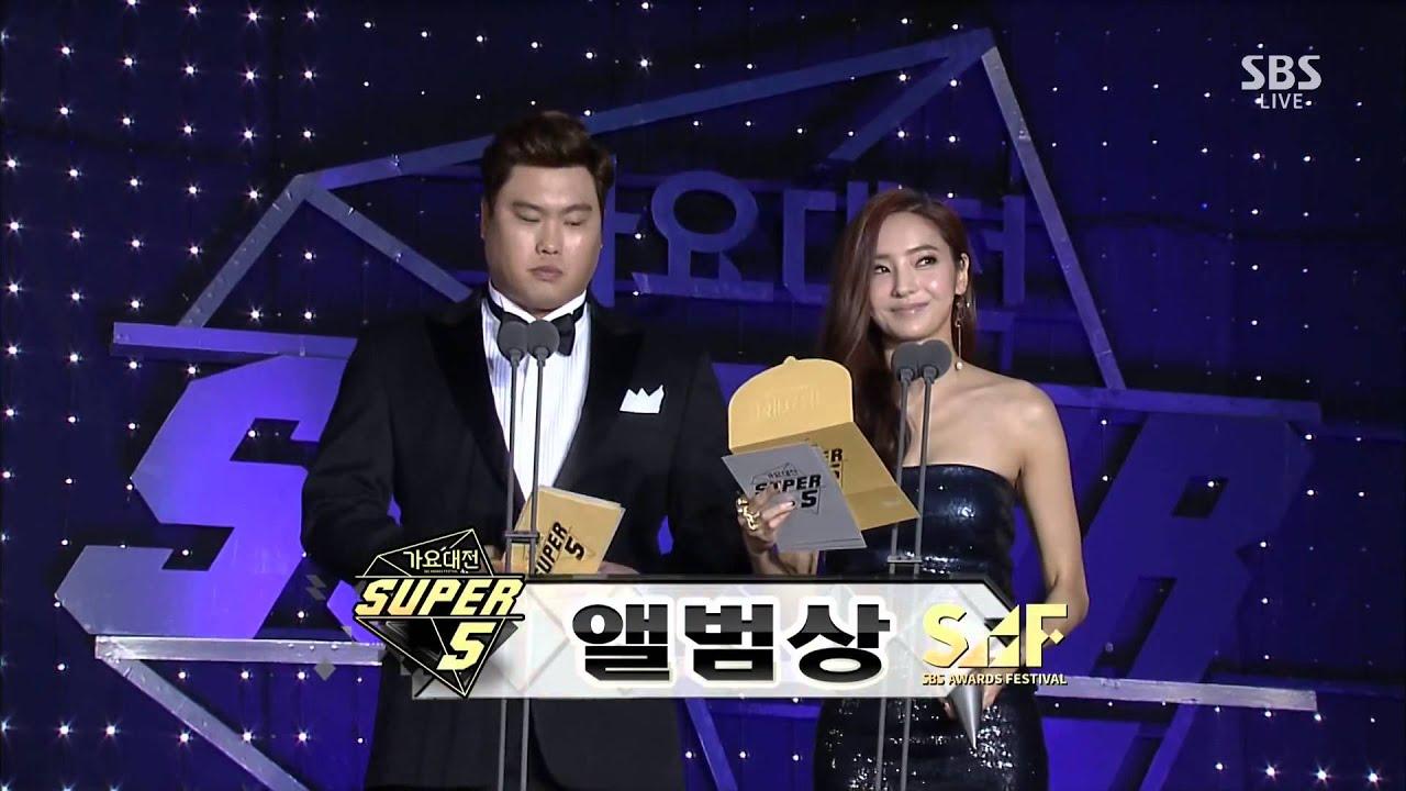 [1080P] 141221 Soyou & Junggigo, EXO Best Song & Album Award @ SBS Gayo  Daejun by PUNKPOP LIVEHD (Closed)