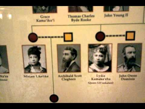 THE ROYAL LINEAGES OF HAWAII RAW VIDEO 2011