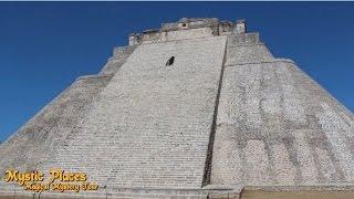 1.6 Mystic Places- Uxmal, Pyramid of the Magician & Maya Ruins. Mexico