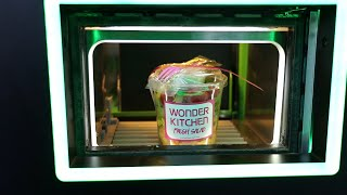 샐러드 자판기 미트박스! Vending machine …