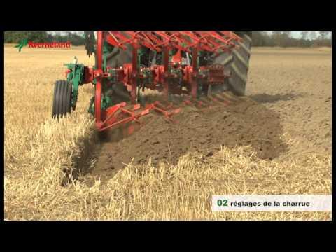 Réglage charrues Kverneland et Packomat (FR)