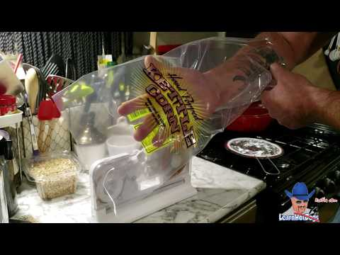 Sealing Kettle Corn Bags