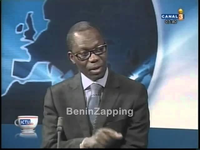 101231 Romain da-Costa Président HCBE France invité Canal3 Bénin