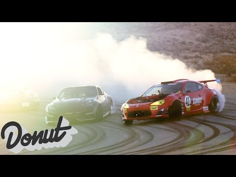Ferrari powered Toyota on track for the first time, w/Ryan Tuerck #GT4586 | Donut Media