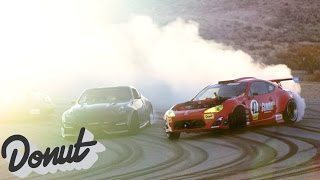 Ferrari powered Toyota on track for the first time, w/Ryan Tuerck #GT4586 | Donut Media thumbnail