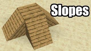 I Added Slopes to Minecraft 1.14