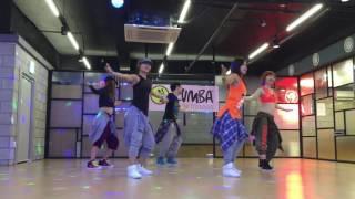 Zumba Choreography by Shin Dong  Yandel   Ay Mi Dios (Feat Pitbull & El Chacal)