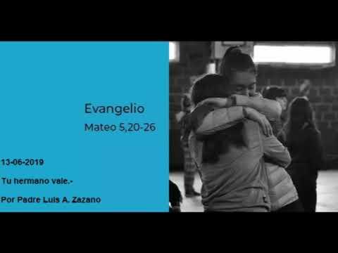 Evangelio del día Jueves 13 de Junio - Lectura y Salmo de Hoy