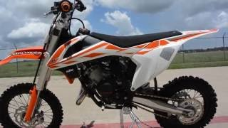 $4,899:  2017 KTM 65 SX Overview and Review