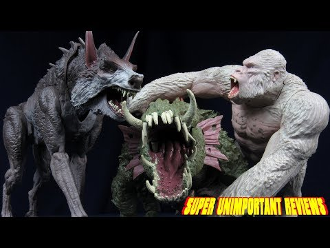 Lanard Rampage: The Movie Big City Brawl George, Lizzie, And Ralph Figures Review