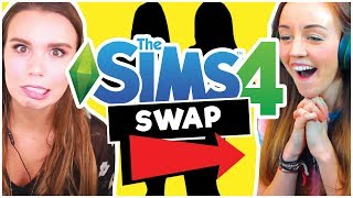 💚 SIM SWAP CHALLENGE! With Clare Siobhan 🤭  [The Sims 4 ]